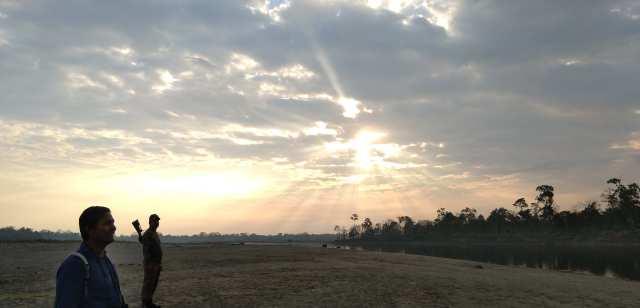 Sunset- near Jia Bhoroli